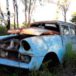 Old, wrecked, car, stuff, store, latent lifestyle, act anyway