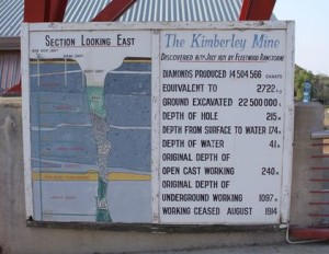 The Big Hole, Kimberley, South Africa, latent lifestyle