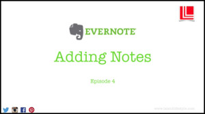 Evernote, notes, add, adding, latent lifestyle, sign in, act anyway