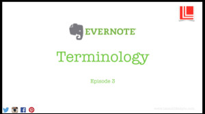 Evernote, terminology, latent lifestyle, act anyway, organisation, planning