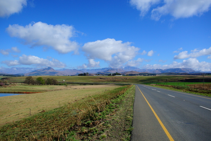 South Africa, Underberg, latent lifestyle